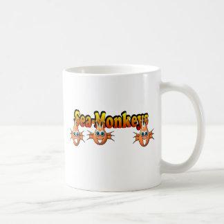 Conception de Monkees de singes de mer Mugs À Café