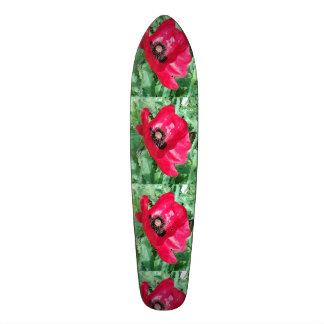 Conception de pavot de planche à roulettes plateaux de skate