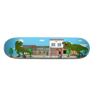 Conception de planches à roulettes de Barker (lac