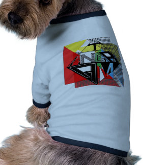 Conception de Tangram par : RokCloneDesigns T Tee-shirt Pour Chien