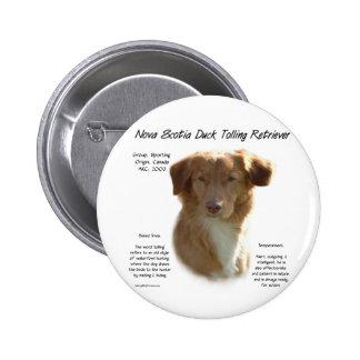 Conception de tintement d histoire de chien d arrê badges