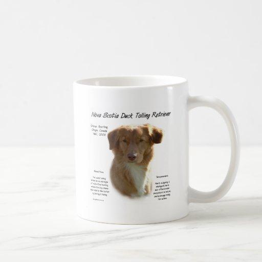 Conception de tintement d'histoire de chien d'arrê mugs