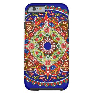 Conception décorative vintage coque tough iPhone 6
