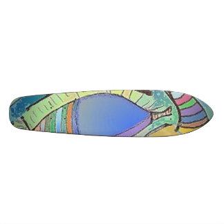 Conception d'oeil de planche à roulettes skateboards personnalisables