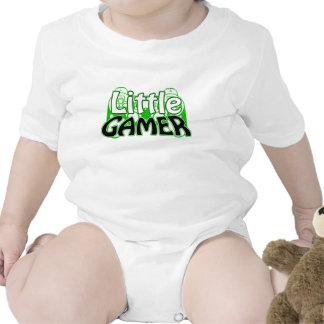 Conception drôle de chemise de jeu vidéo de petit bodies pour bébé