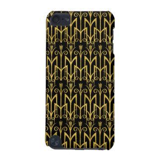 Conception extraordinaire d'art déco de Noir-Or Coque iPod Touch 5G