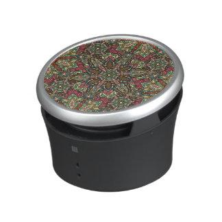 Conception florale de motif d'abrégé sur mandala haut-parleur