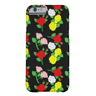 Conception graphique de roses coque barely there iPhone 6