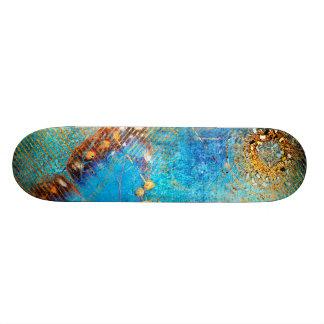 Conception grunge d'abrégé sur papillon de plateau de skateboard
