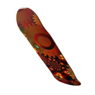Conception grunge de destin de rouille d'or d'horl planches à roulettes customisées