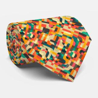 Conception mélangée mignonne de couleurs cravate