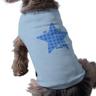 Conception mignonne d'étoile vêtements pour chien