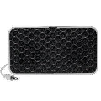 Conception noire haut-parleur iPod