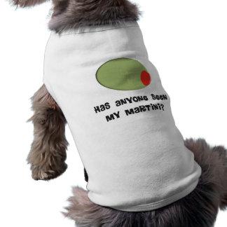 Conception olive de T-shirts et de cadeaux de T-shirts Pour Chien