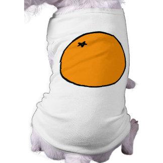 Conception orange vêtement pour animal domestique
