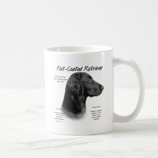 Conception Plat-Enduite d'histoire de chien d'arrê Mug