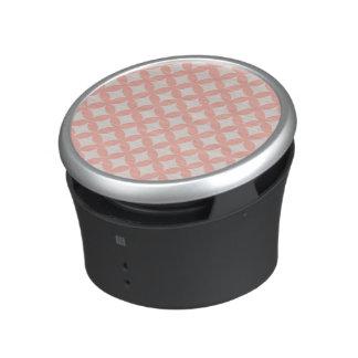 Conception rose et bronzage de Geocircle Haut-parleur Bluetooth