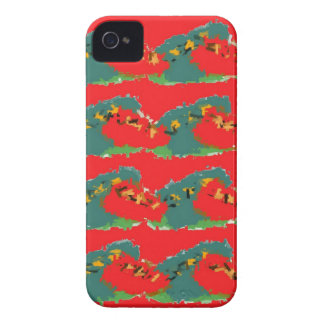 Conception rouge coque Case-Mate iPhone 4