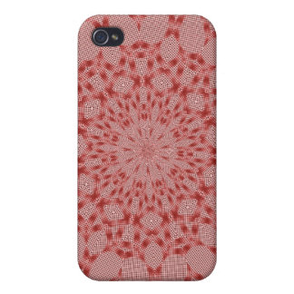 Conception rouge iPhone 4 case