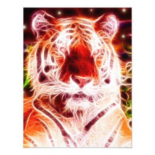 Conception sauvage *Siberian d'esprit de Tiger* Faire-part Personnalisables