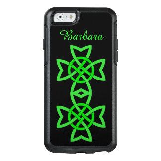 Conception verte nouée par double celtique coque OtterBox iPhone 6/6s