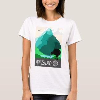 Conception vintage de la Nouvelle Zélande T-shirt