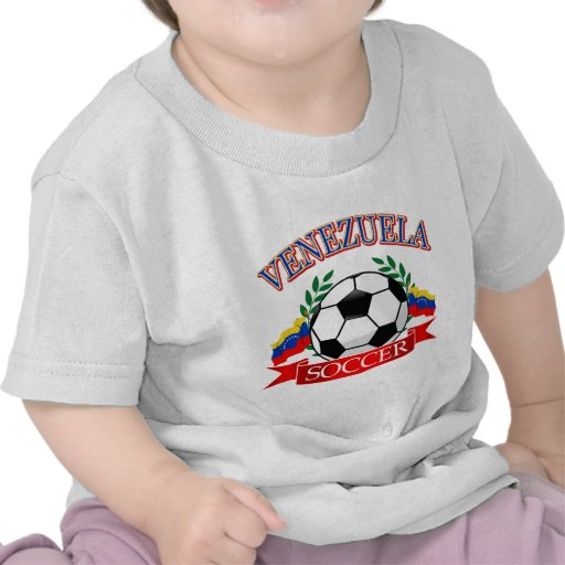 Conceptions de ballon de football du Venezuela T-shirt