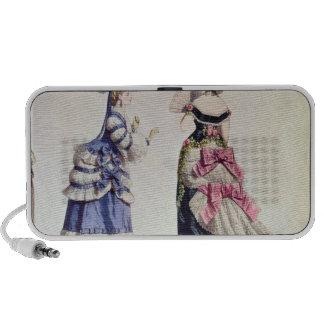 Conceptions de mode pour des femmes des 1860's haut-parleur portable