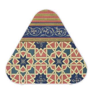 Conceptions décoratives arabes (litho de couleur) haut-parleur bluetooth