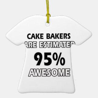 conceptions drôles de boulangers de gâteau