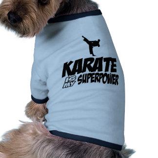 Conceptions fraîches de KARATÉ Vêtement Pour Animal Domestique
