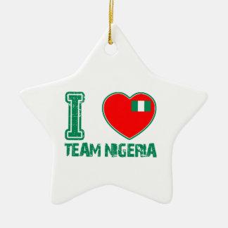 Conceptions nigériennes de sport décorations de noël