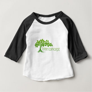 Conceptual Apple Tree Baby T-Shirt