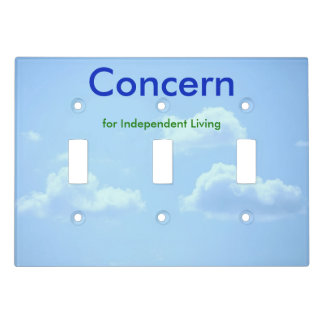 Concern Logo Light Switch Cover