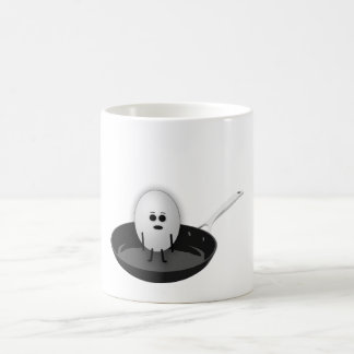Concerned Egg Coffee Mug