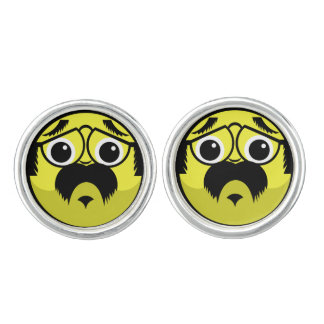 Concerned Face Cuff Links