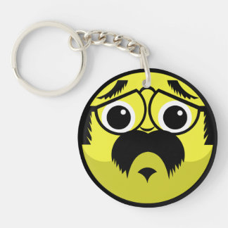 Concerned Face Keychain