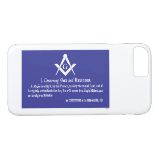 CONCERNING GOD AND RELIGION iPhone 8/7 CASE