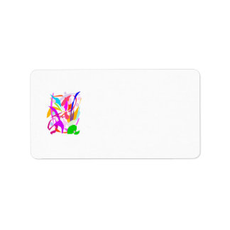 Concert Audience Applause Sound Custom Address Label