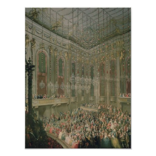 Concert in the Redoutensaal Print
