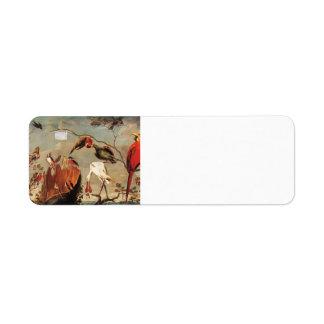 Concert of Birds by Frans Snyders Return Address Label