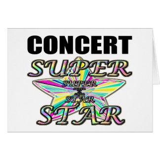 Concert Superstar Card