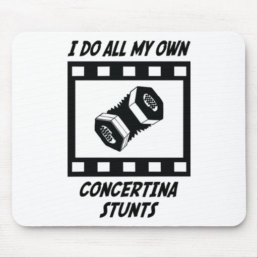 Concertina Stunts Mouse Mats