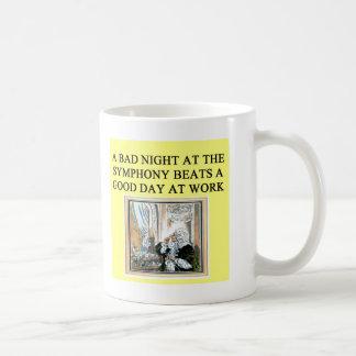 concerts beat work coffee mug