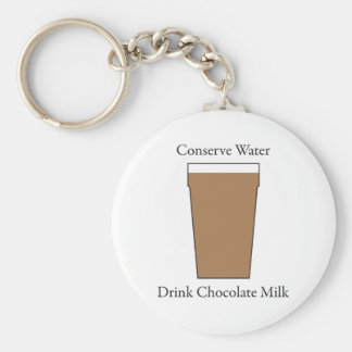 Concerve Water Drink Chocolate Milk Keychain