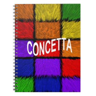 CONCETTA NOTE BOOK