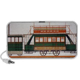 Concevez pour un tram de vapeur, plaquez 126 'de l haut-parleur mobile