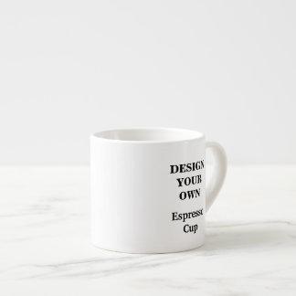 Concevez votre propre tasse de café express - blan tasse expresso