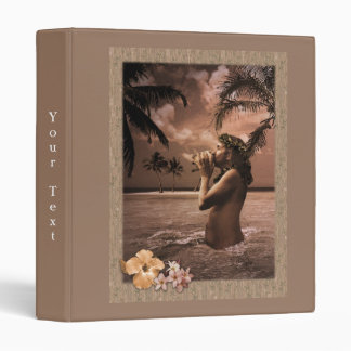 Conch Blowing Vinyl Binder