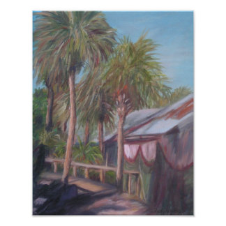 CONCH HOUSE WALKWAY Poster